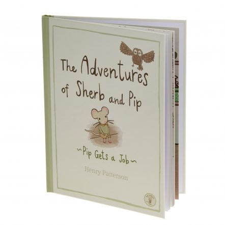 The Adventures of Sherb and Pip childrens bedtime story book written by Henry Patterson for Not Before Tea