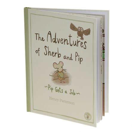 lowThe Adventures of Sherb and Pip childrens bedtime story book written by Henry Patterson for Not Before Tea