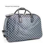 Grey Monogram Bag